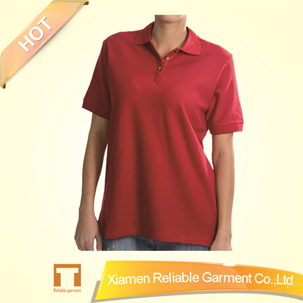 2016 new fashion women polo t shirt wholesale t shirt polo/ women polo