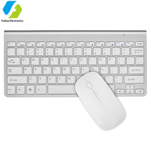 Colored 2.4g flexible wireless keyboard and mouse combo set