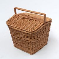 Buy Made in China rectangular Balck two persons wicker picnic ...