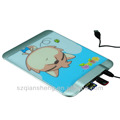 Multi function USB hub Mouse pad for laptop table pc