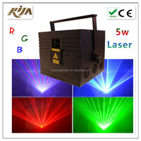 Disco multi color lighting Animation RGB 3w event stage christmas laser light