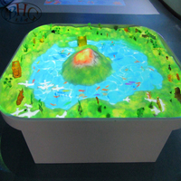 Children AR products interactive magic sand table interactive floor games for kids