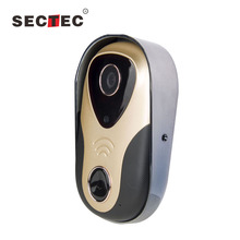 Smart Home WiFi Remote Video Door Phone Intercom Doorbell Camera HD 720P Support P2P Alarm IR Night Vision Supports iOS/Android