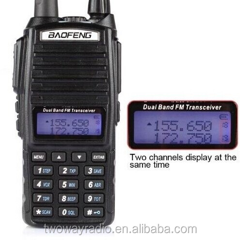 Best Selling Baofeng uv-82 dual band Radio 5W UHF/VHF radio