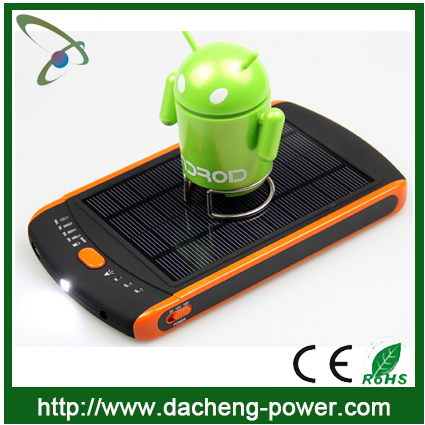 High capacity laptop solar charger 23000mAH solar backpack charger for laptop/mobile phone