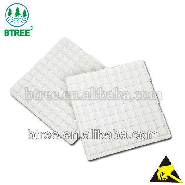 PS Conductive Tray for High tech Electronic Parts, Semicondutor