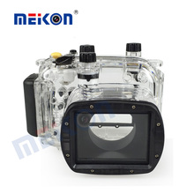 meikon underwater case for canon g11 canon g12 waterproof camera housing shenzhen manufacturer