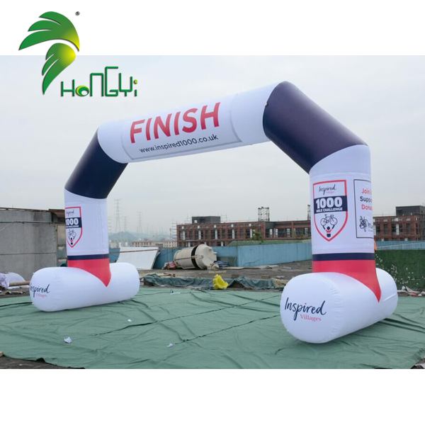 Customized Inflatable Race Arch , Inflatable Start Finish Line Arches For Outdoor Sport