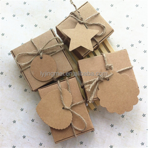 candy cardboard box handmade soap box brown kraft papergift packaging paper boxes