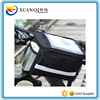 Bicycle Bags Front Bike Bag for Phone Removable Heat Protection Foldable Bicycle Handlebar Bag Map Touch Bottle Stuff Cycling