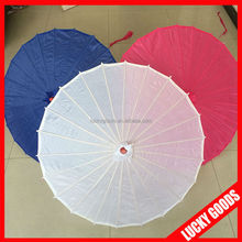 Wholesale style outdoor waterproof decoration bamboo umbrellas for wedding