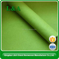 Pet Needle Punched Absorbent Nonwoven Felt Customized