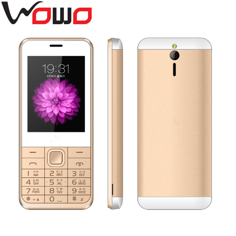 2.8 inch low price GSM850/900/1800/1900 qwerty keypad 3g dual sim phones T6