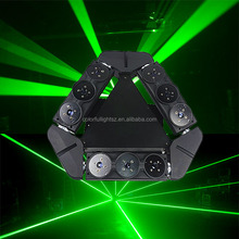RGB laser projector wide beam spider moving head stage party disco club light