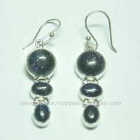 New model earrings, silver jewellery online, Crystal Avenue wholesale jewelry