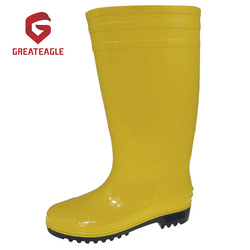 Hot Selling Construction Worker Safety Rain Factory PVC boots Shoes