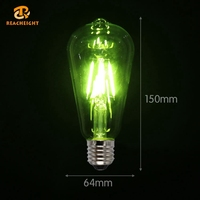 Top Rated High Quality Vintage E14 Large Led Spiral Filament Bulb