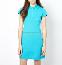polo t shirt men's high quality polo shirt dress casual dress for young lady