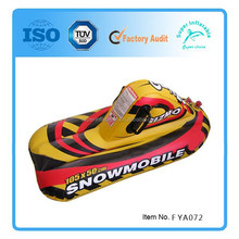Inflatable Snow Sled tubes, Kid's Snowmobile