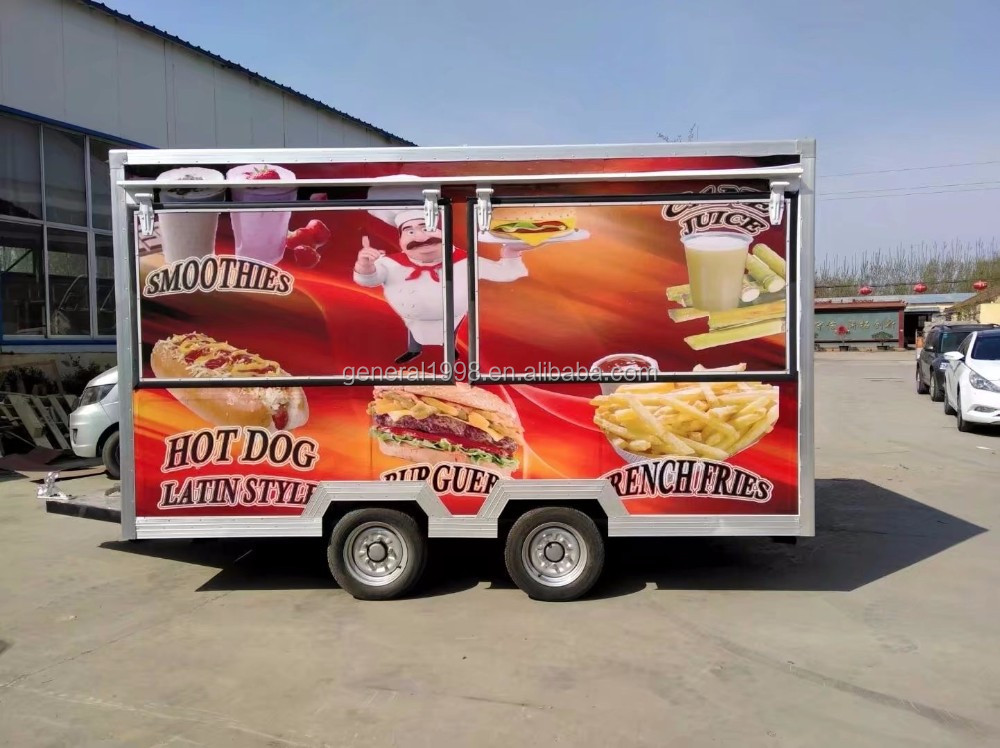 Catering van Food trailer Fast food truck