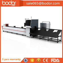 cnc fiber laser cutter with rotary device cheap fiber laser metal tube cutting machine