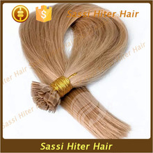 Competitive Price Full Ends Glue Human Flat Tip Hair