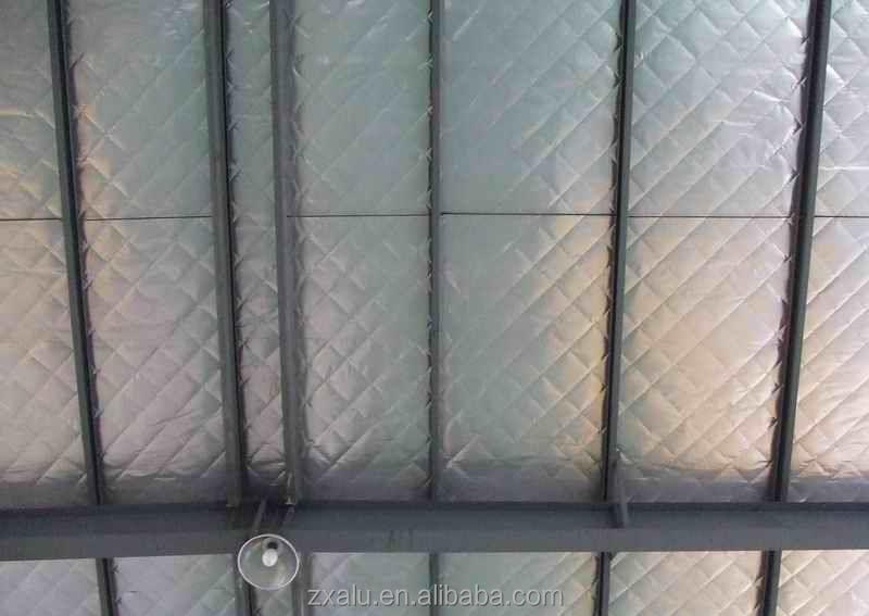 High quality aluminum thermal reflective foil insulation roll for roof