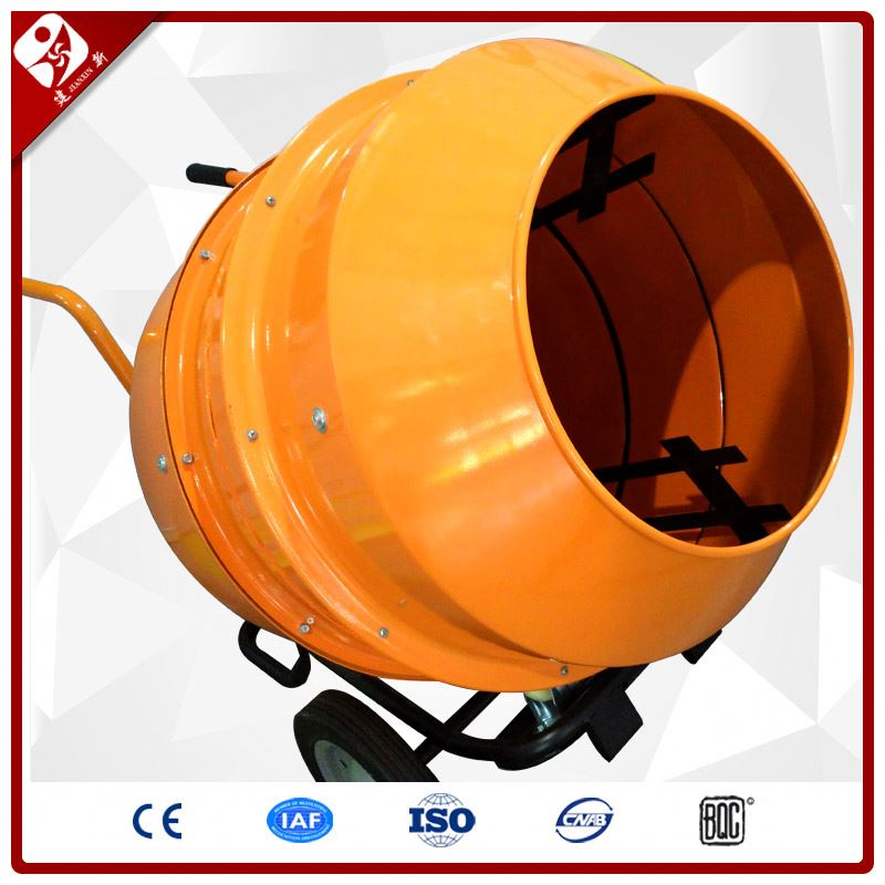 China Manufacturer Mini Gas Powered Self-Loading Mobile Small Concrete Cement Mixer Gasoline Engine For Sale