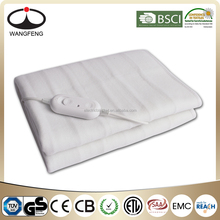 fleece polyester Single electric heated blankets