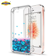 5S Se Transparent Case , Liquid Silicone Phone Case For Iphone Se