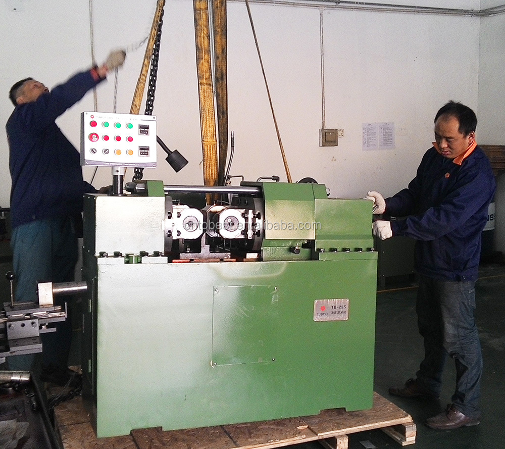 stainless steel nut and bolt manufacturing machine thread machine