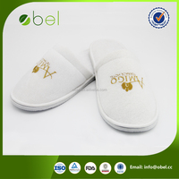 embroidery soft sole indoor slippers comfortable