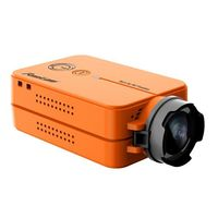 HD RunCam 2 Ultra Lightweight 1080P 60fps ORANGE HD FPV Quad Racing Drones, Sport FPV camera