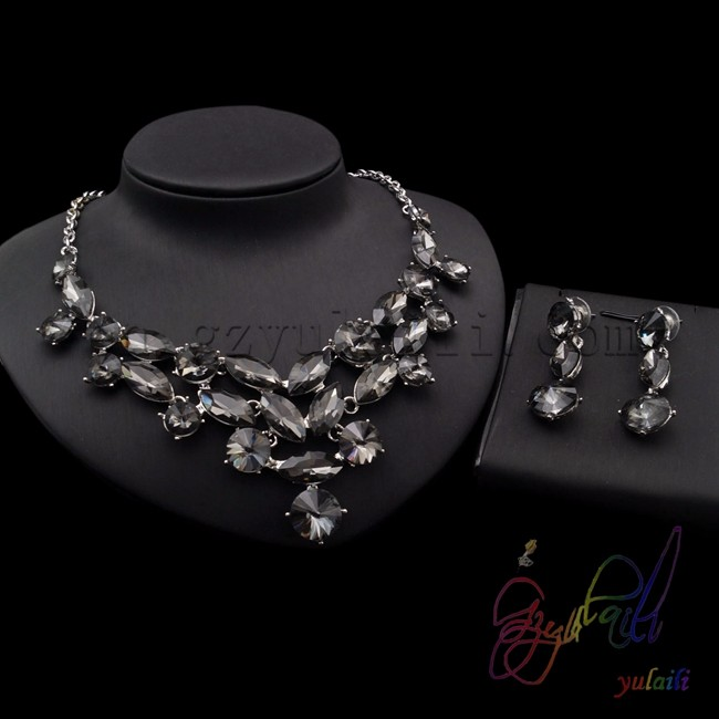 Hot Sale Dubai Gold 18K Jewelry Sets Fshion Party jewellery full set jewellery making charges for good jewellery