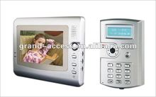 interphone with camera entry phone system home monitoring wire video door phone building automation