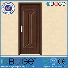 BG-P9045 Veneer Wooden Flush Doors / Louvered Interior Doors for Small Spaces