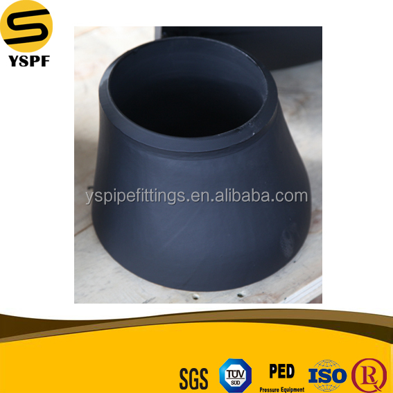 high quality and factory price carbon steel pipe fittings eccentric reducer dimensions