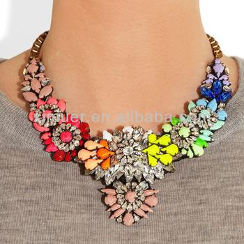 2014 Luxury Design Shourouk Style Necklace