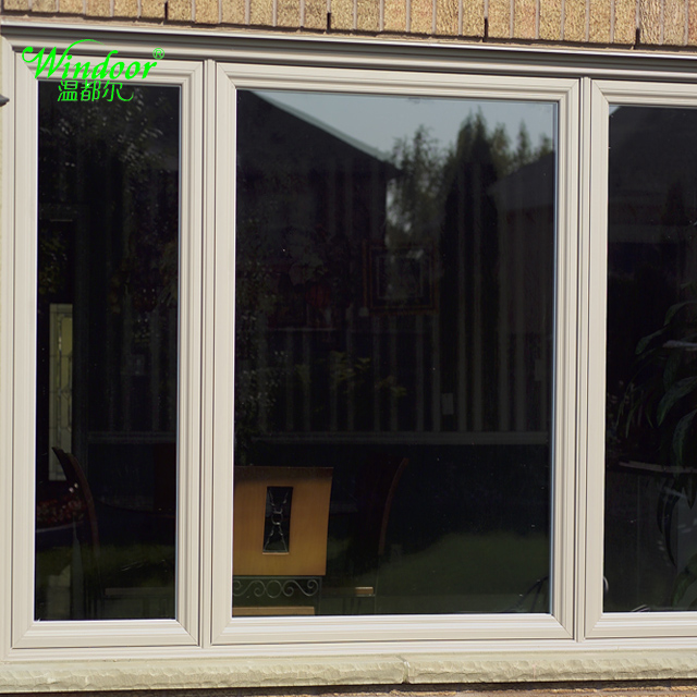 France/French PVC Fixed Window For Sale