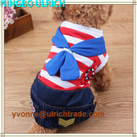 CS72 new 2016 cute design wholesale dog jumpsuits