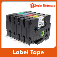 TZ-231 black on white label tape for Brother P-touch label tape Printer