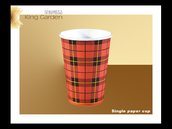 Single or double side biodegrad hot paper cup