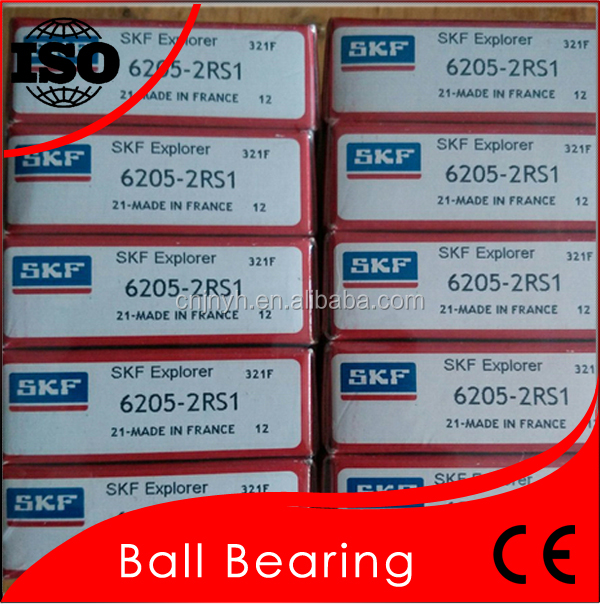 GCr15 Good Performance SKF Bearing 6205 Quick Dleivery Bearing Long Using Life