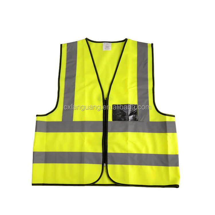 High Performance useful reflective safety vest women