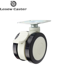 Medical bed castor wheel