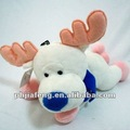 Christmas toys deer plush scarf toy