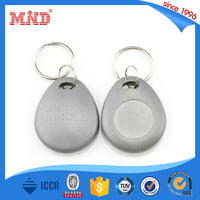 MDK10 Elegant RFID key fobs with an iron ring for the attachment