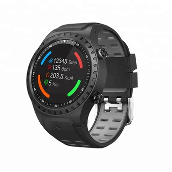 2018 new product IP68 waterproof build-in GPS and compass men smart watch mobile phone bracelet