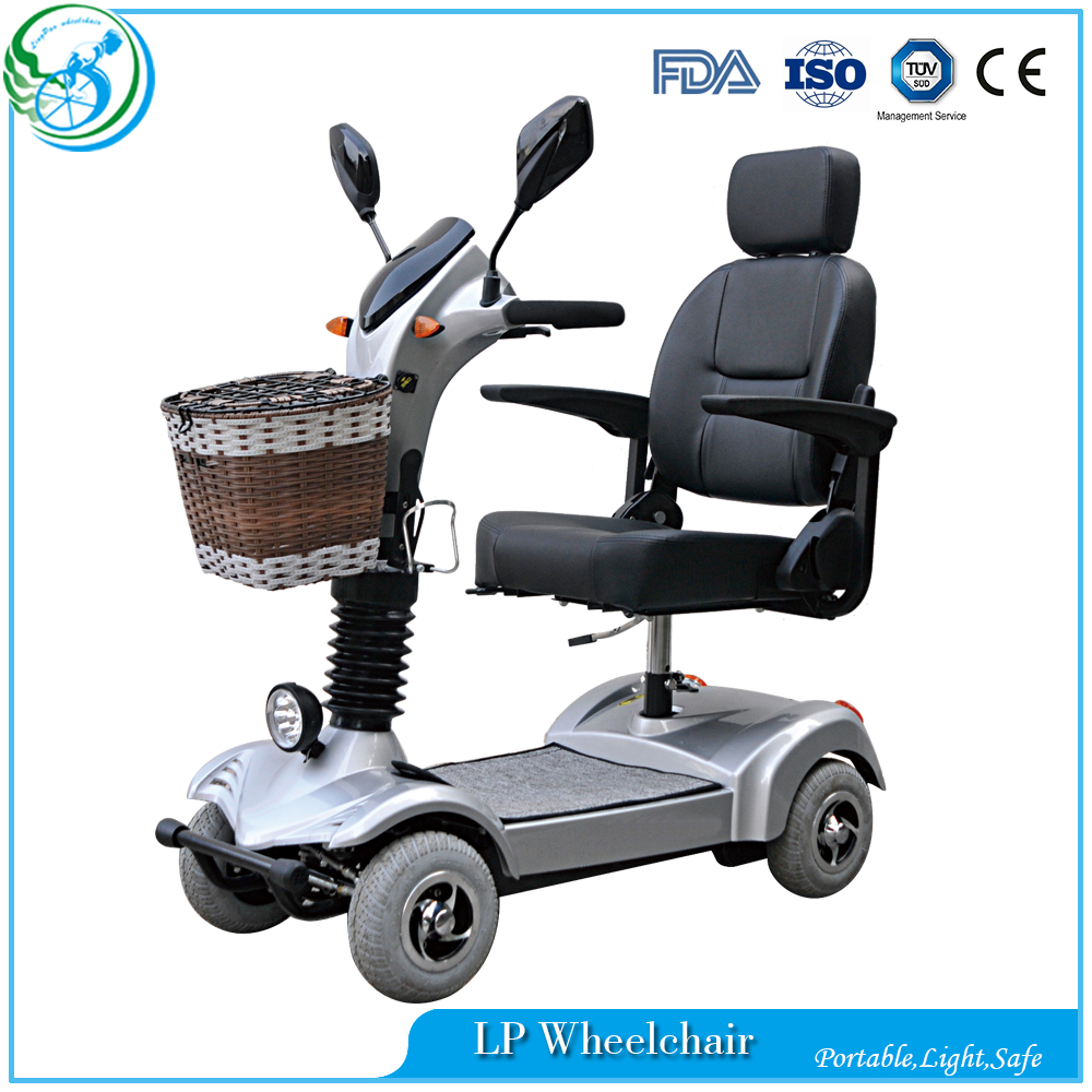 4 wheels heavy duty electric mobility scooter