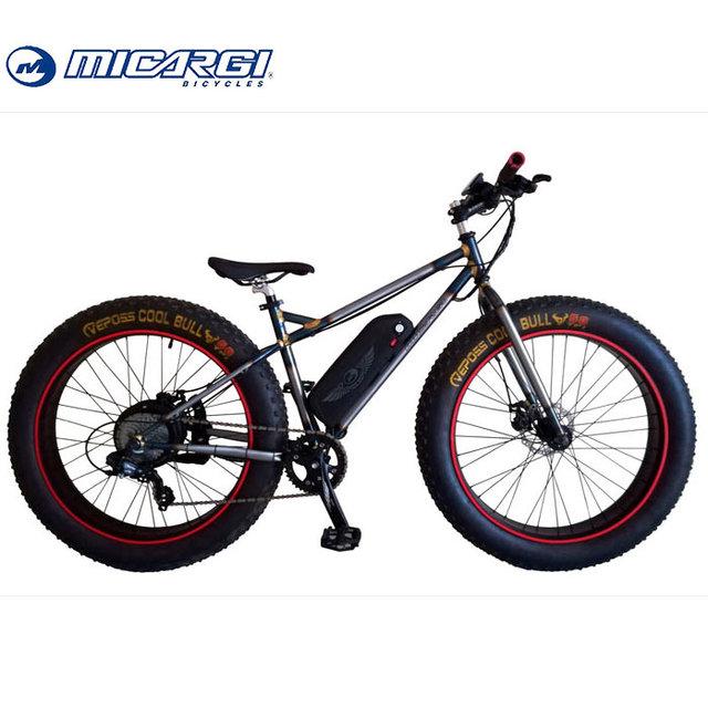 Micargi 500w electrical bicycle HURRICANE fat tire e bike 48v battery electric bike